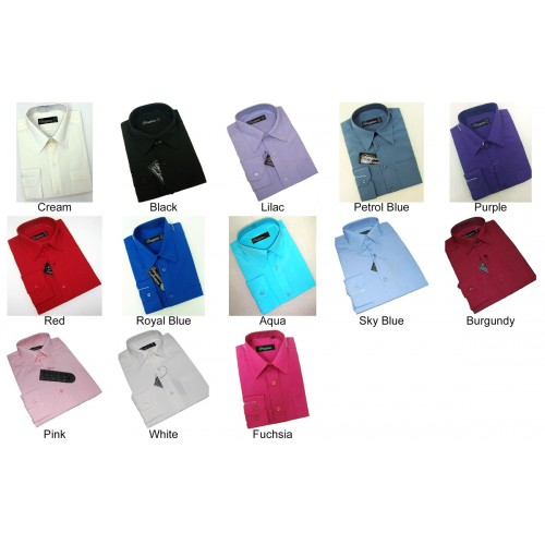 Shirts - Various Colours and Styles