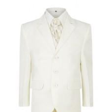 4 Piece Boys Cream Suit Italian Design Page Boy, Wedding, Communion 1 to 16 years