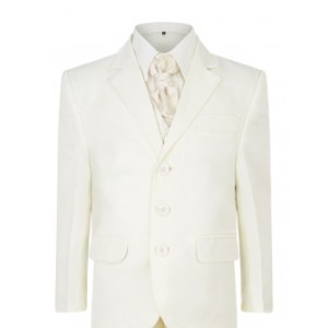 5 Piece Boys Cream Suit Italian Design Page Boy, Wedding, Communion 1 to 15 years