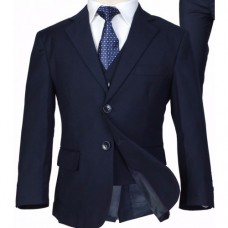 5 Piece Suit In Navy / Black / Grey - BUY OR HIRE from just £10.99