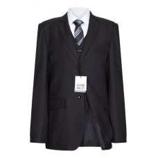 5 Piece Slim Fit Boys Suit In Black - BUY OR HIRE from just £10.99