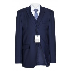 5 Piece Slim Fit Boys Suit In Navy - BUY OR HIRE from just £10.99
