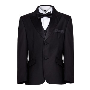 Boys Black Tuxedo Boys Dinner Suit James Bond Suit 1 - 16 years £26.99