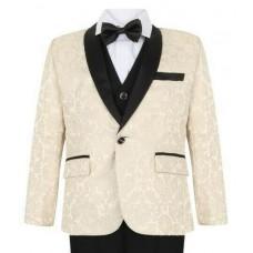 Boys Ivory Tuxedo Boys Dinner Suit James Bond Suit 1 - 16 years £29.99