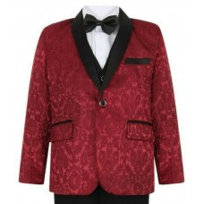 Boys Wine Tuxedo Boys Dinner Suit James Bond Suit 1 - 16 years £29.99