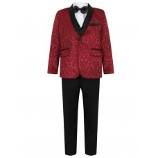 Boys Wine Tuxedo Boys Dinner Suit James Bond Suit 1- 16 years £29.99