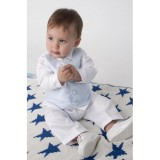 Boys Checked Christening Suit In Blue - BUY OR HIRE from just £10.99